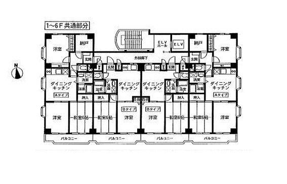 マンション(建物全部)-板橋区新河岸1丁目 間取り
