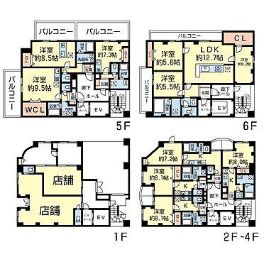 マンション(建物全部)-千葉市中央区新田町 間取り