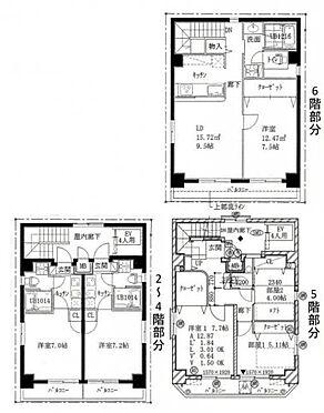 マンション(建物全部)-墨田区石原3丁目 間取り