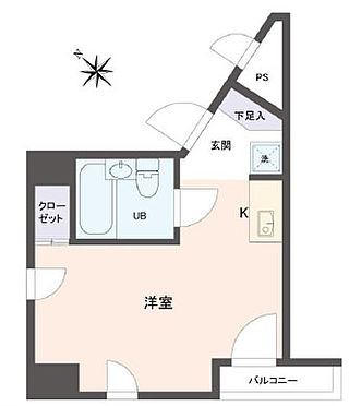 マンション(建物一部)-墨田区東向島4丁目 間取り