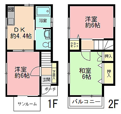 アパート-世田谷区太子堂2丁目 間取り