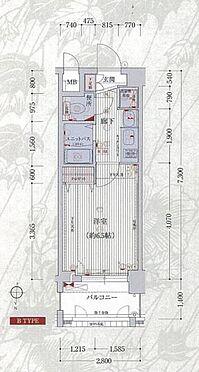 マンション(建物一部)-京都市東山区三条通大橋東入三町目 間取り