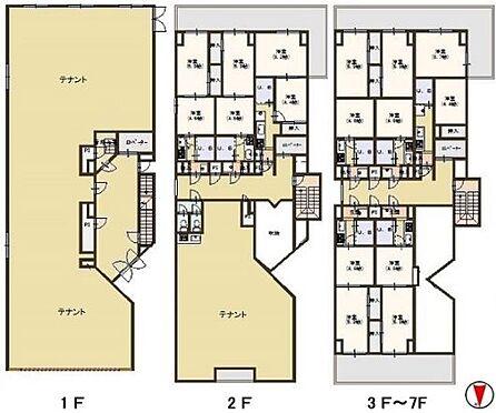 マンション(建物全部)-京都市下京区七条御所ノ内北町 間取り