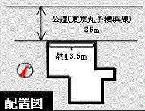 マンション(建物全部)-大田区田園調布本町 区画図