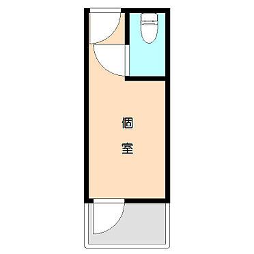 マンション(建物全部)-川崎市川崎区小川町 シンプルなワンルーム。
