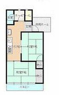 マンション(建物一部)-岡山市南区豊成3丁目 間取り