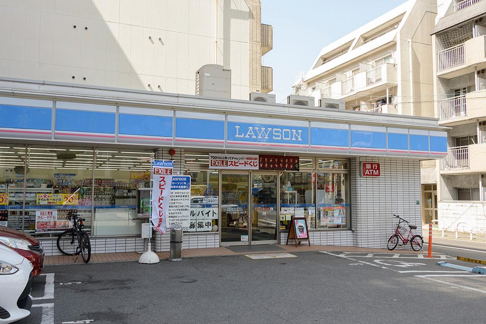 ローソン福岡高砂一丁目店 約90m(徒歩2分)
