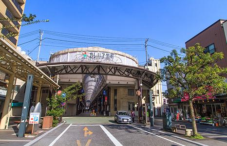 ガレリア竹町アーケード入口 約400m(徒歩5分)