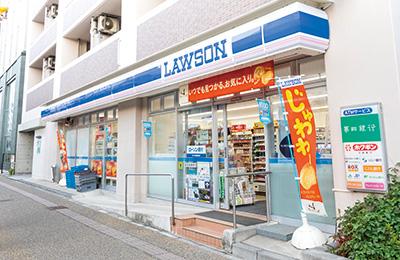 ローソン新潟東中通一番町店 約280m(徒歩4分)