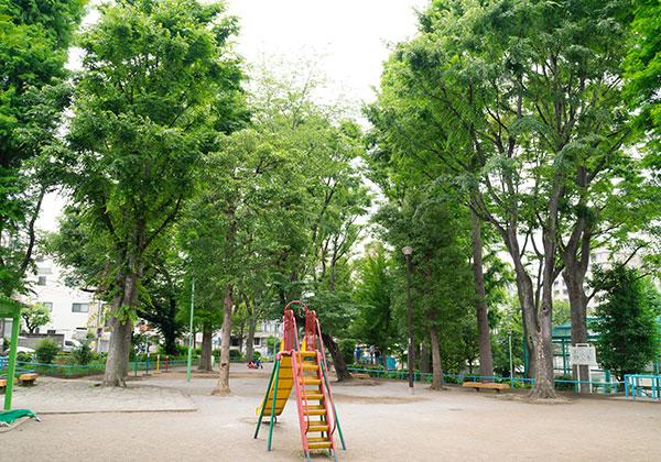 動坂公園 約630m(徒歩8分)