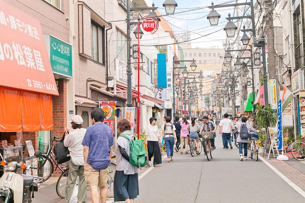 仲宿商店街 約680m(徒歩9分)