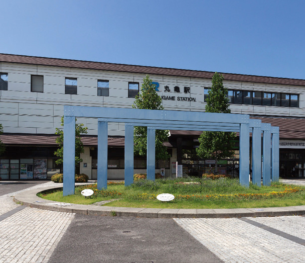 JR 丸亀駅 約1,420m(自転車8分)