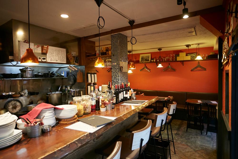 ワイン食堂ラリゴ 約650m(徒歩8分)