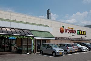 アップルサンショウ食菜館 新根塚店 約540m(徒歩7分)