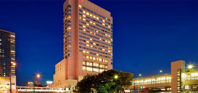 シェラトングランドホテル広島 約660m(徒歩9分)
