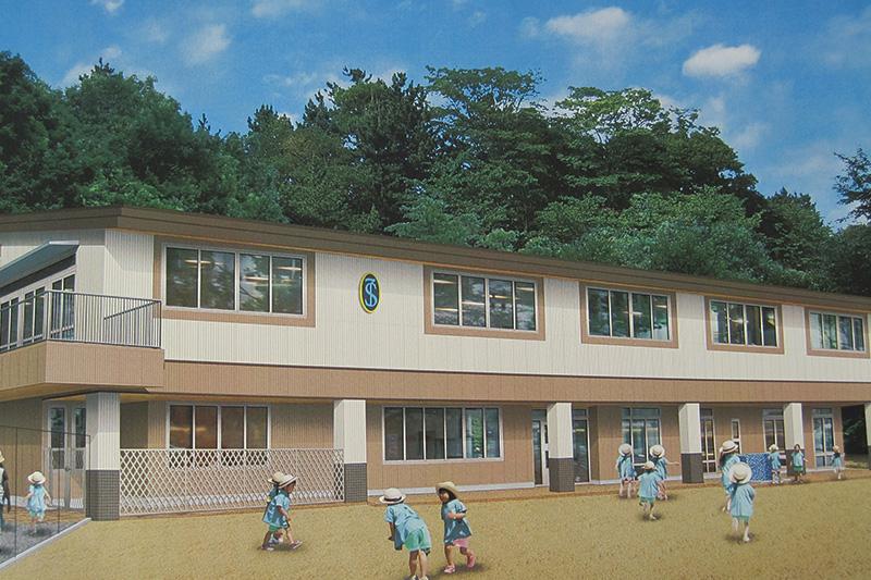 聖ヨゼフ幼稚園 新校舎平成29年11月完成予定 約80m(徒歩1分)
