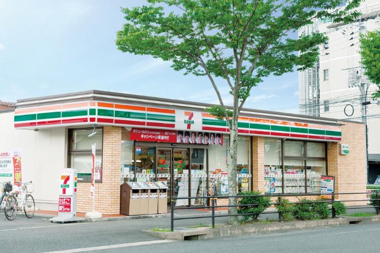 セブンイレブン山口白石店 約460m(徒歩6分)