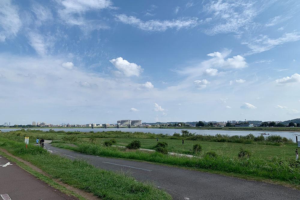 多摩川 約590m(徒歩8分)