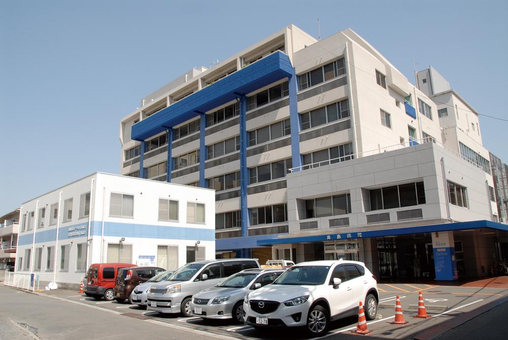 奥島病院 ザ・レジデンス(北棟):約170m(徒歩3分) ザ・プレミアム(南棟):約250m(徒歩4分)