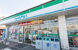 ファミリーマート豊橋前田町一丁目店 約160m(徒歩2分)