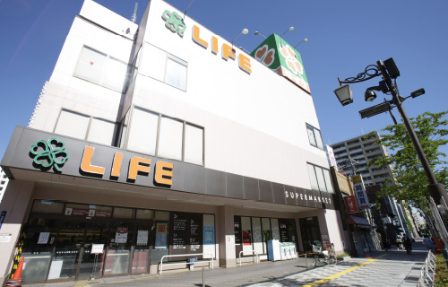 ライフ 浅草店 約990m(徒歩13分)