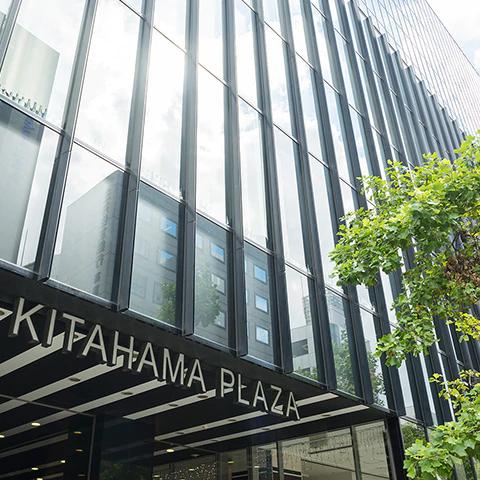 The Kitahama PLAZA 約640m(徒歩8分)