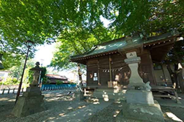 諏訪神社 約670m(徒歩9分)