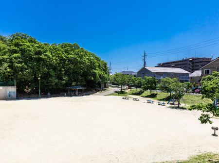 島田緑地 約650m(徒歩9分)