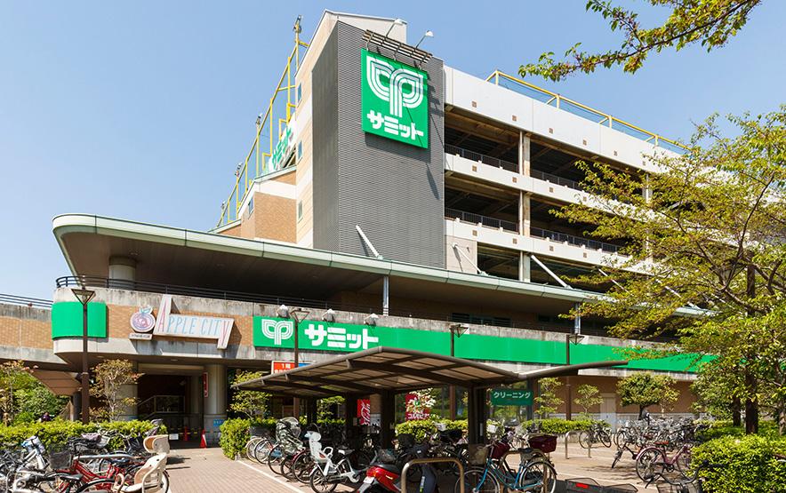 サミットストア川口エルザタワー店 約380m(徒歩5分)