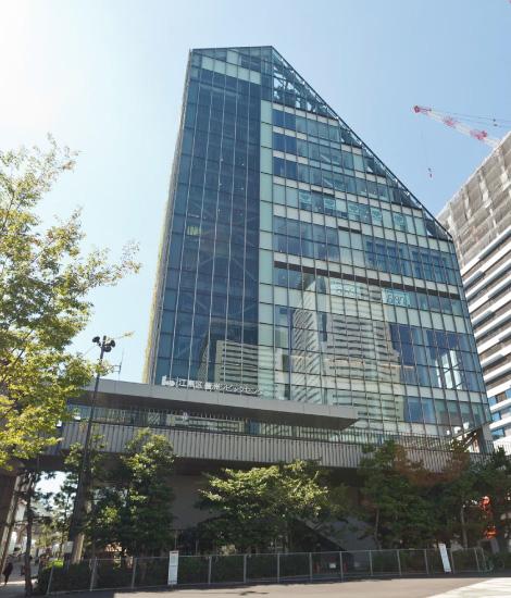 豊洲シビックセンター 約270m(徒歩4分)