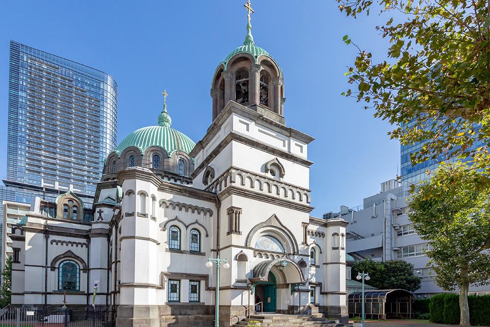 東京復活大聖堂教会(ニコライ堂) 約350m(徒歩5分)