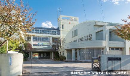 市立荏田西小学校 約70m(徒歩1分)※通学路