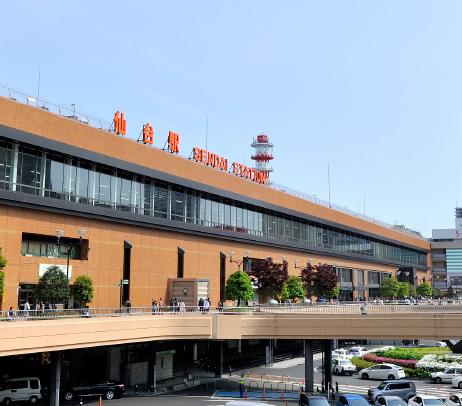 JR「仙台」駅西口 約950m(徒歩12分)