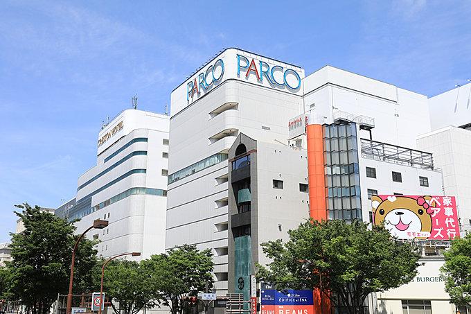 名古屋PARCO 約1,550m(自転車6分)