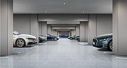 屋内平面駐車場完成予想図