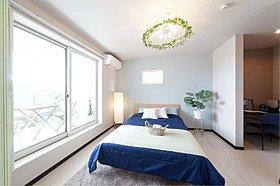 バルコニー・書斎・ウォークインクローゼットと機能充実の主寝室