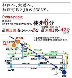 P-CONキャンバスハウス けやき台3丁目:交通図