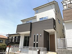 南道路・陽当たり良好な高台の永住邸/2階建て・土地30坪以上・地震に強い性能評価住宅の外観