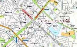 ハッピーストーリータウン リノ中百舌鳥:交通図
