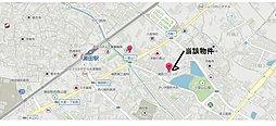 【森田住宅】フォレストパレス大津・一里山<JR瀬田駅 徒歩10分の立地に全5区画の分譲地が誕生>:交通図