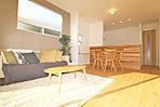 【屋内に家具設置しました】1号棟ウォークインクロゼットが4つ設定した収納豊富なプランです。