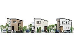 ポラスの分譲住宅 Mirais 三郷中央 nextstage 紡ぐ家。C区の外観