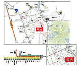 サイプレス 南桜塚2:案内図