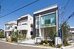 J・アーバン新検見川 街並み写真(右からNo1,2,3区画)