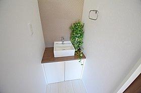 【現地写真】可愛らしい洗面台