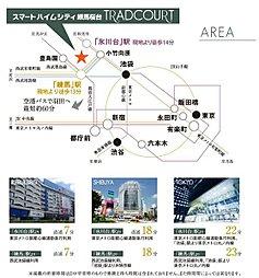 【セキスイハイム】スマートハイムシティ練馬桜台 TRADCOURT:交通図
