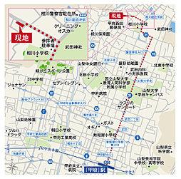 【セキスイハイム】甲府市古府中町:案内図