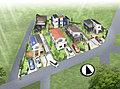 最寄駅まで駅近徒歩5分、JR東船橋駅徒歩13分。全6区画の新興住宅地 南道路で陽当たり良好。