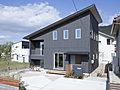 【東広島市河内町】 スキップフロアとミニガレージのある家