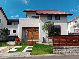 【名取市】パインの無垢床を使用した分譲住宅を販売中の外観